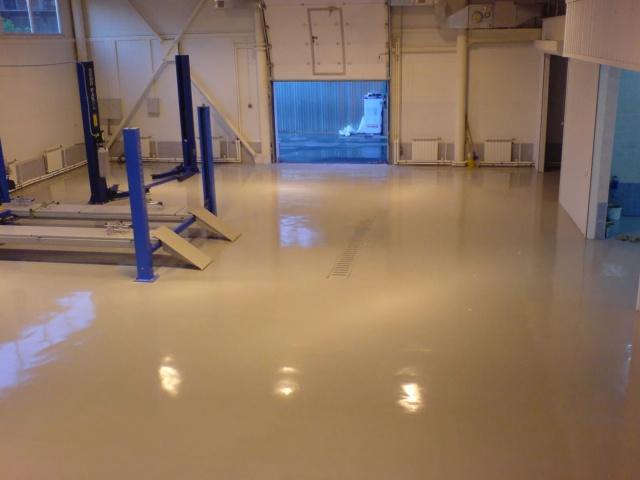 Полиуретановые полы для жилых помещений использование шпатлевки для ламината