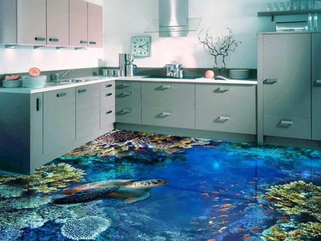 Наливной пол кухне руками двух видов самовыравнивающиеся стяжки и декоративные наливные полы самовыравнивающиеся